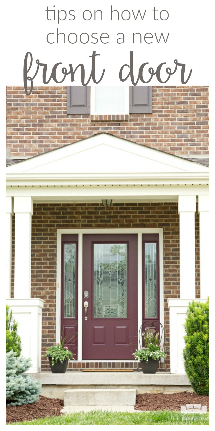 Your front door is your home's first impression, so why not make a statement? If you're considering replacing your front door, keep these four tips in mind.