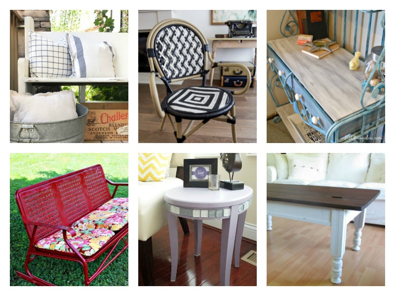 Furniture Makeover Ideas - diy projects, before and after and more!
