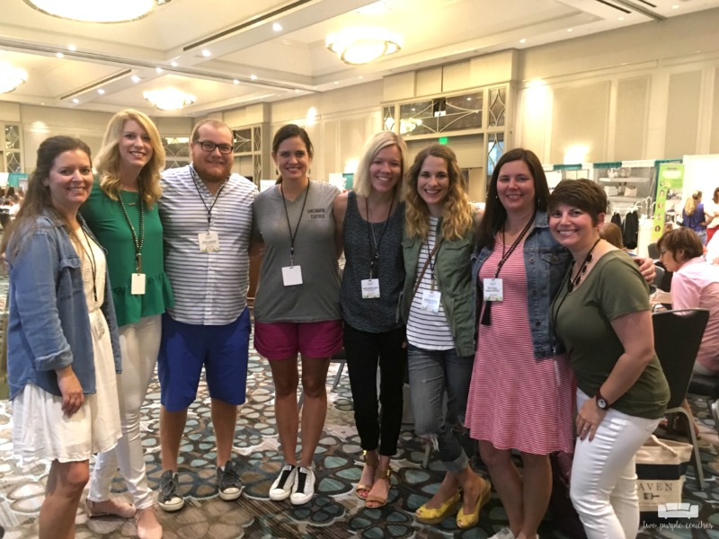 "Haven Conference 2017 / My awesome ""tribe"" of blogging buddies from across the USA!"