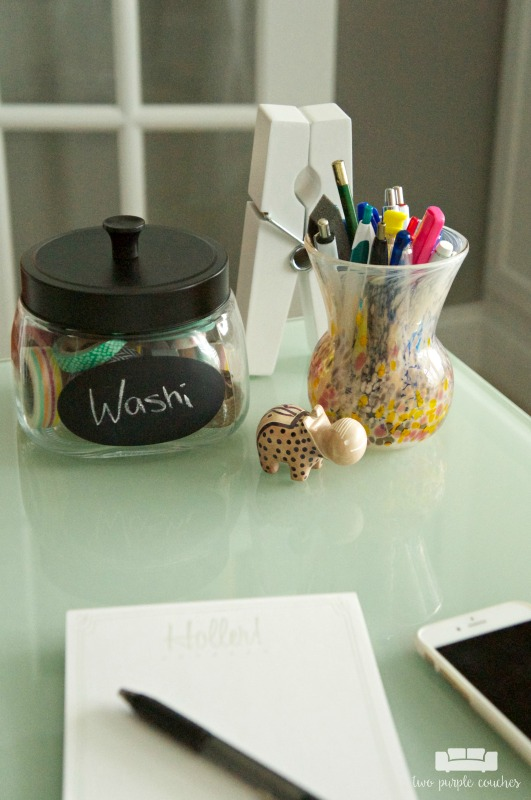 Home Office Design - desk accessories