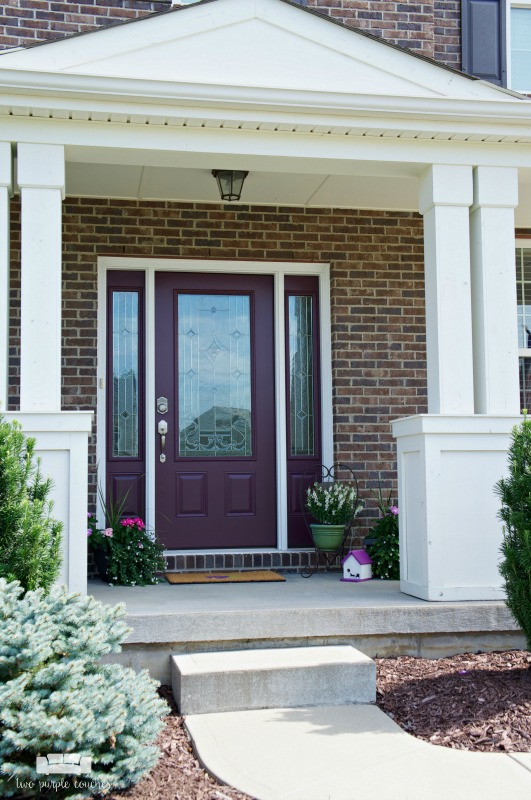 Summer porch decor ideas to enhance your home's curb appeal. Make your front entry shine with simple updates and potted plants! Sponsored.