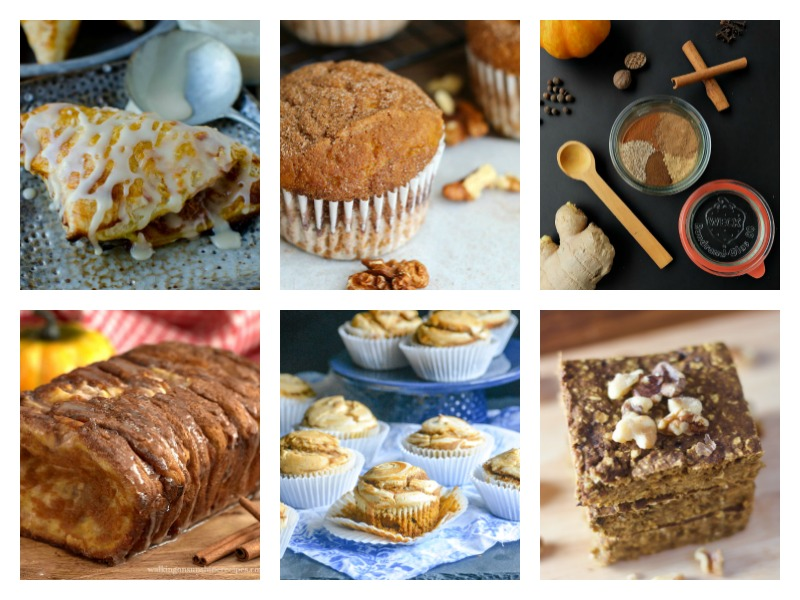 The best homemade pumpkin spice recipes - from scones to muffins to turnovers.