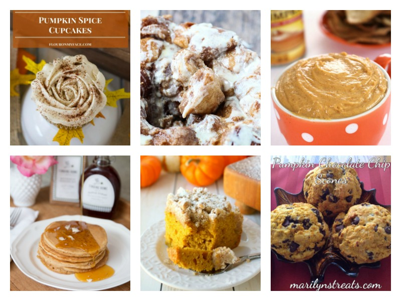 The best pumpkin spice recipes and baking ideas - delicious cupcakes, breads and treats.