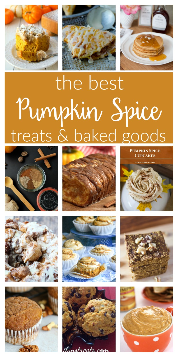 Pumpkin Spice recipes mean Autumn is here! You'll love these delicious desserts and easy baking ideas for homemade cupcakes, muffins, breads, pancakes and more!
