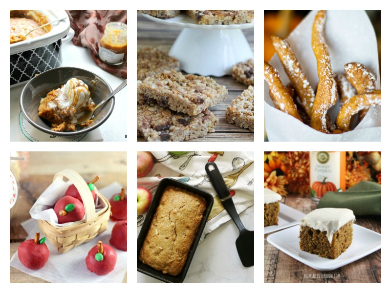 Fall desserts Ideas and recipes - whether you love apple or pumpkin, there's something here for your sweet tooth!