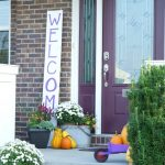 Fall porch decorating ideas. Update your entry for autumn with these simple DIY ideas, from potted mums to rustic planters and colorful pumpkins.