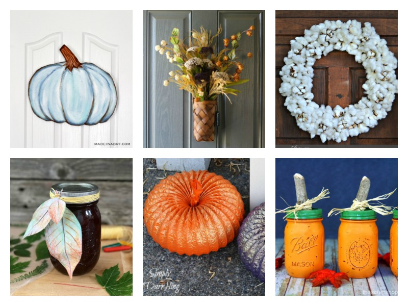 Rustic Fall Crafts & Decor Ideas
