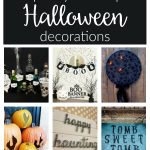 DIY Halloween Decorations from cutesy to spooky! Save these easy and cheap homemade ideas anyone can make for Halloween party decor, home decor and more!