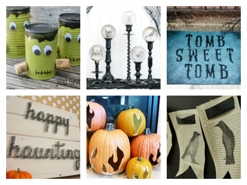 DIY Halloween Decorations Ideas - easy homemade crafts and party decor ideas