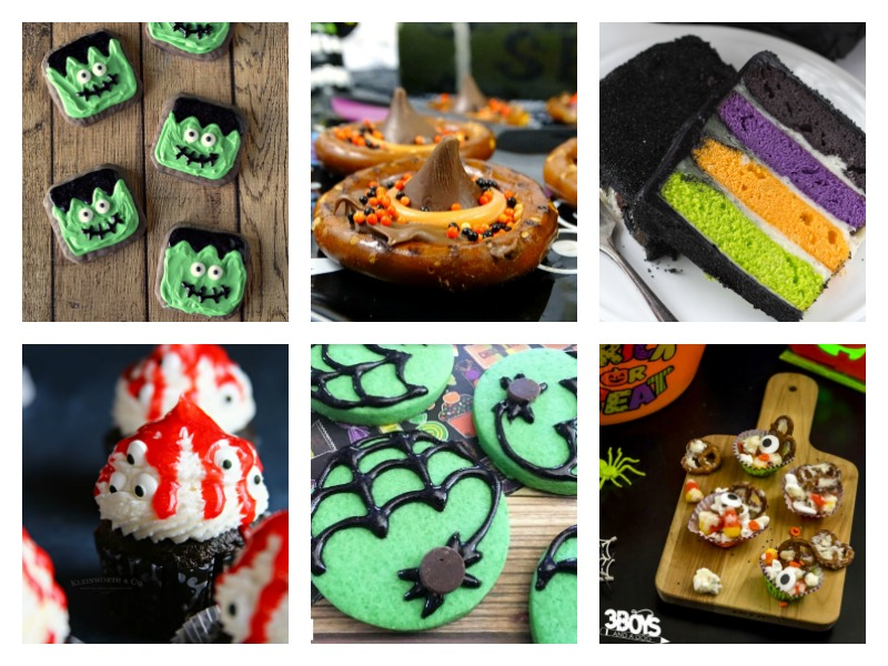 Cute and slightly spooky ideas for Halloween Treats!