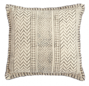 Mud Pie Block Geometric Pillow