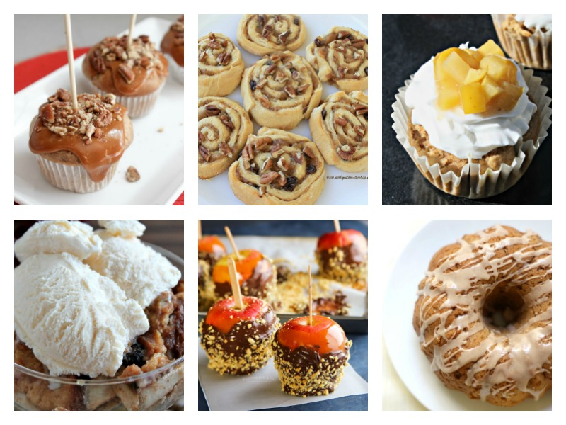 Yummy apple recipes - easy desserts, cupcakes, caramel apples