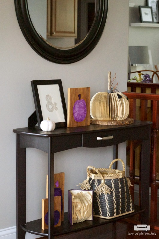Fall Entryway Decorating Idea