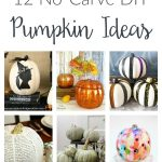 Pumpkin decorating ideas - fun and easy no-carve DIY crafts ideas for adults, teens and kids alike. Enjoy your pumpkins all through the fall season!