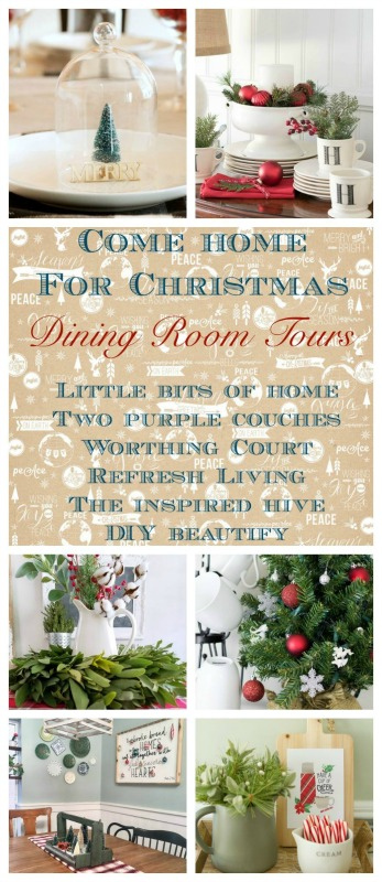 Christmas Dining Room Decor Tours