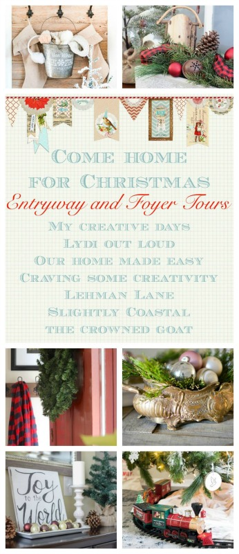 Christmas Foyer and Entryway Decor Tours