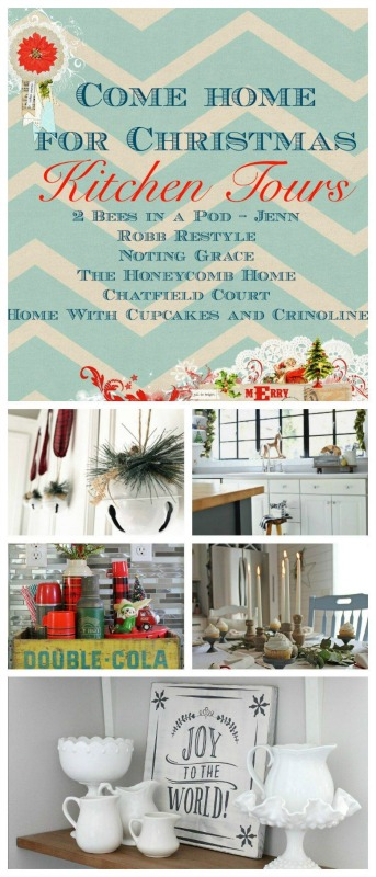 Christmas Kitchen Decor Tours