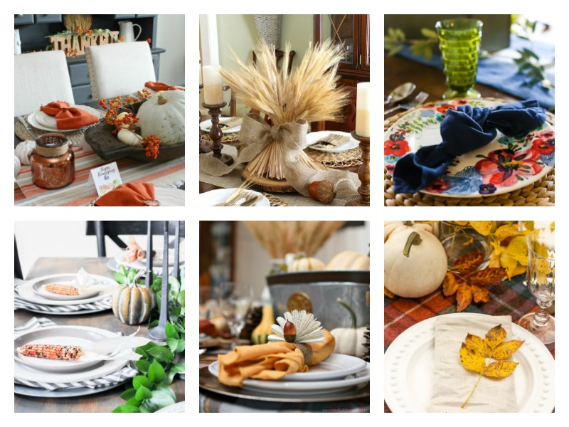Simple and elegant #ThanksgivingTable decoration ideas and centerpieces