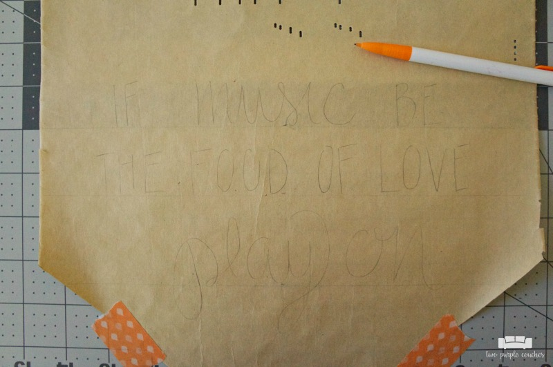 Sketching phrase on player piano roll