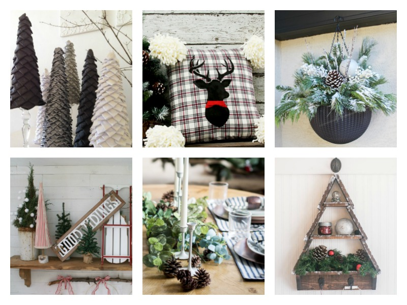 DIY Rustic and Traditional Christmas Decorating Ideas