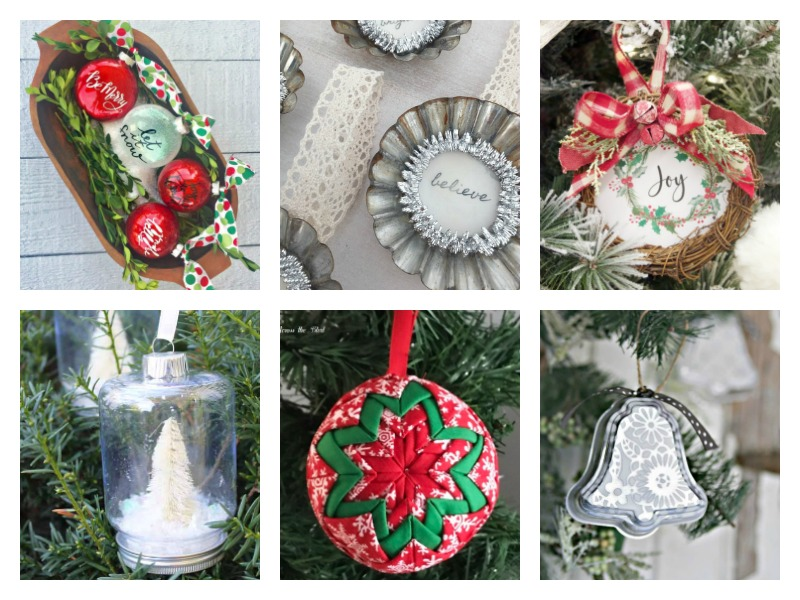 Easy ideas for handmade Christmas ornaments