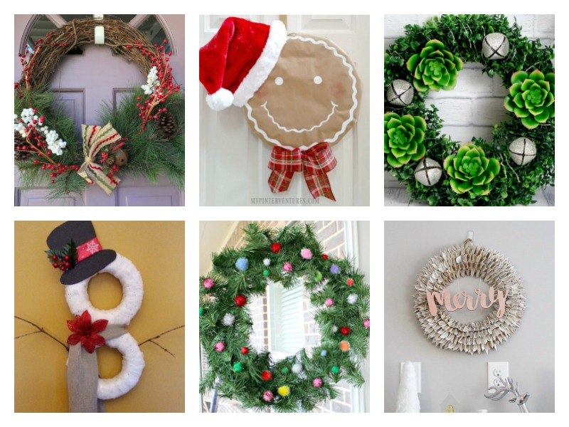 Simple ideas for DIY Christmas wreaths