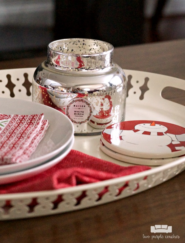 Create a cozy holiday home with candles