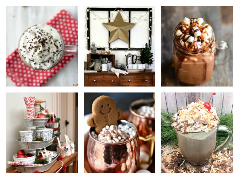 Hot Cocoa Recipes and ideas for setting up a Hot Cocoa Bar