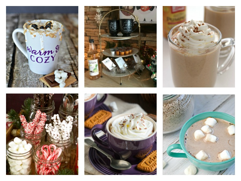 Delicious homemade Hot Coco Recipes and Hot Cocoa Bar Ideas