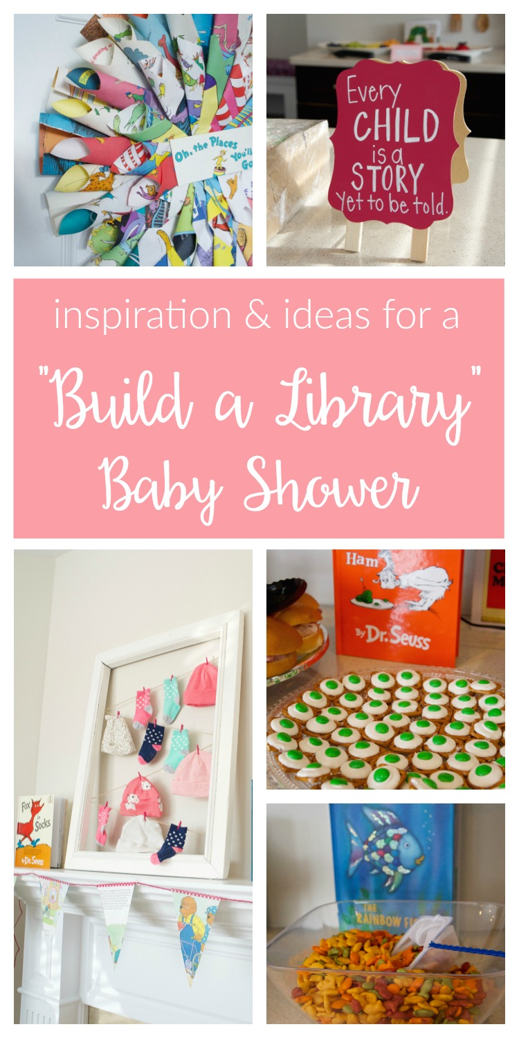 Build your baby's library with a book themed baby shower! From decorations and games to favors and food, this storybook theme works for boys or girls.