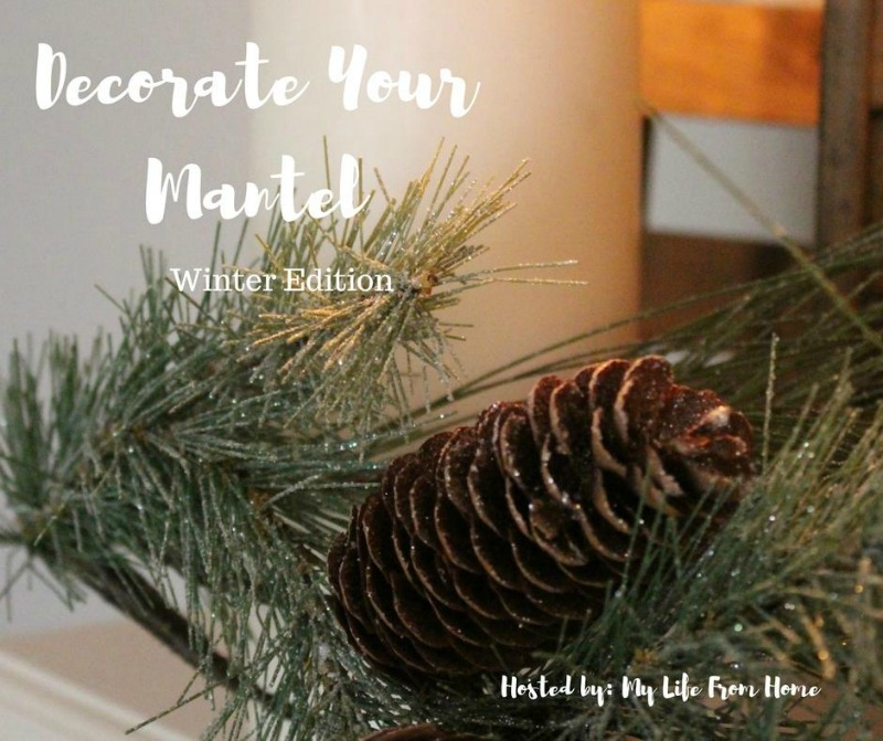 Decorate Your Mantel - Winter Edition. Find beautiful and creative ideas for decorating your mantel for the winter season.