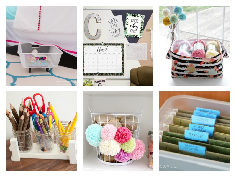 Home Organization - DIY Ideas & Crafts