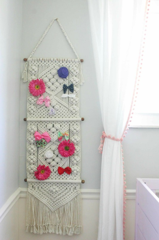 Modern Bohemian Nursery / Macrame Decor / Craftivity Designs