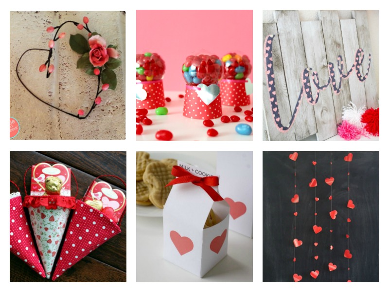 Cute crafts and decorations for Valentines Day