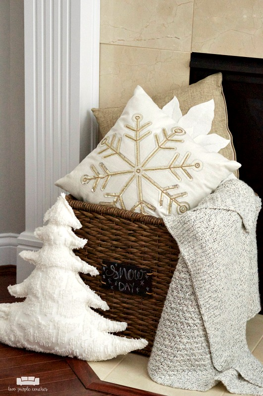 Cozy winter whites decor ideas