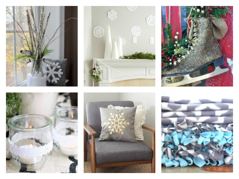 Love these snowy wintry decor ideas!