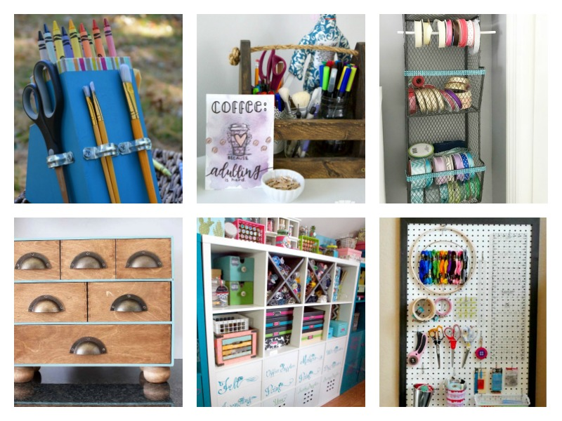 Craft Room Organizing and Storage Ideas