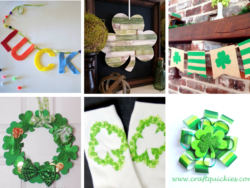 DIY ideas and crafts for St. Patrick's Day