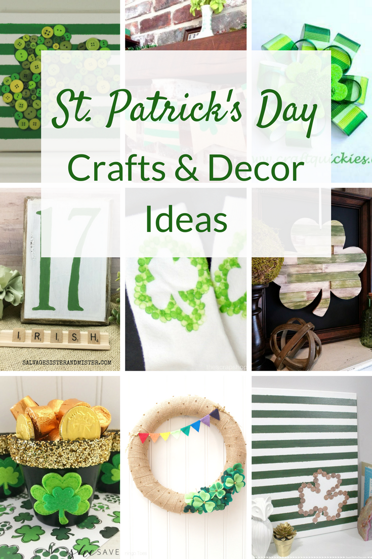 St patrick 39 s day crafts two purple couches for St patrick day craft ideas