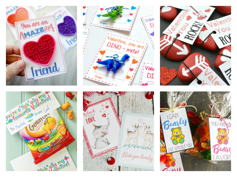 Cute ideas for homemade Valentines for kids to give their friends, family and classmates
