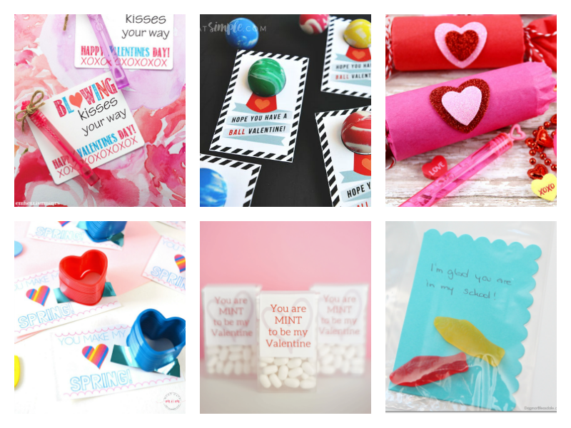Cute DIY Valentines for Kids