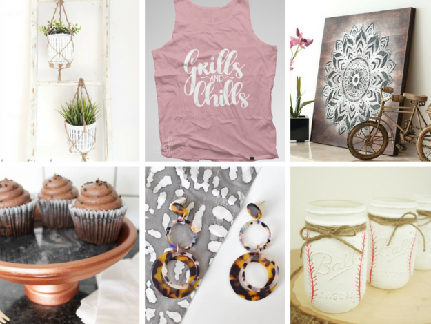 Summer Crafts Ideas - stay cool when it's hot and get your crafty on!