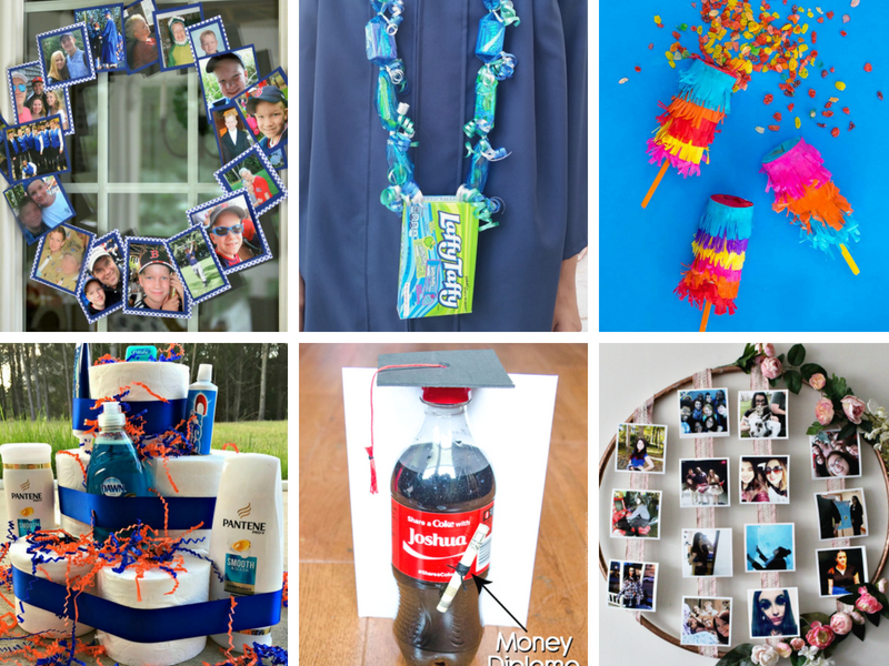 DIY ideas for high school or college graduation