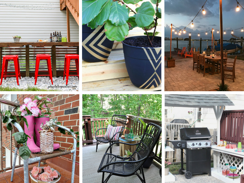 DIY patio ideas on a budget