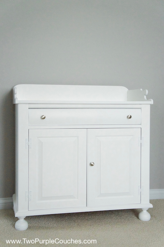 Painting furniture - DIY makeover idea