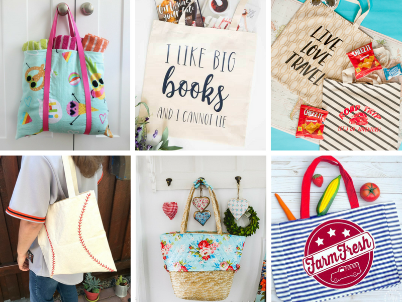 Easy DIY Tote Bag Ideas
