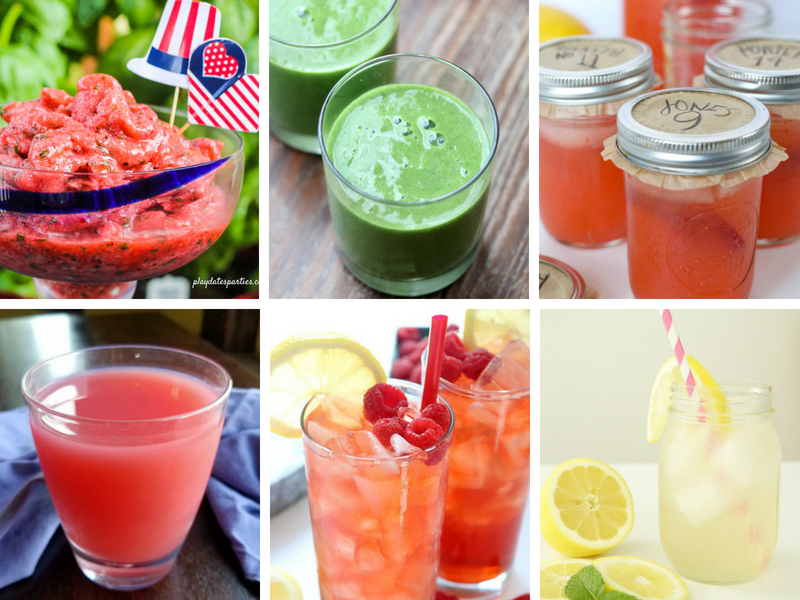 Fruity Drinks - frozen drinks to beat the heat this summer