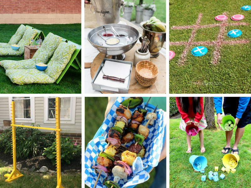 Fun Summertime Outdoor Games and Party Ideas