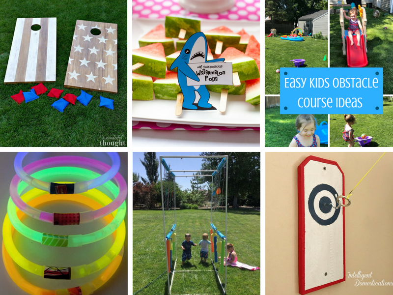 DIY Outdoor Games and summer party ideas for the whole family!