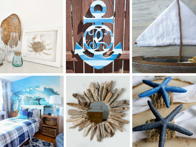 DIY Coastal Home Decor Ideas